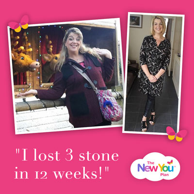 [Part 1] Lucy lost 3 stone in 12 weeks!*