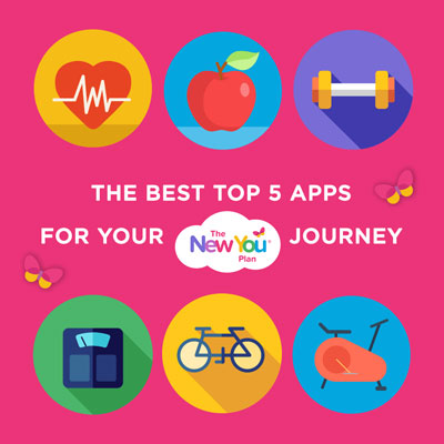 Top 5 Apps For Your New You Journey