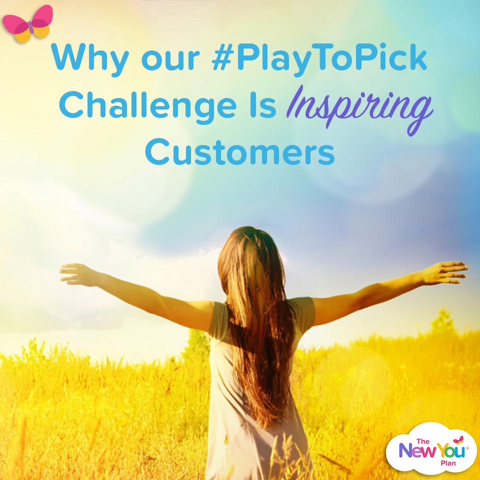 #PlayToPick New You Plan Challenge Is Inspiring Customers