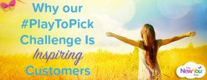 #PlayToPick New You Plan Challenge