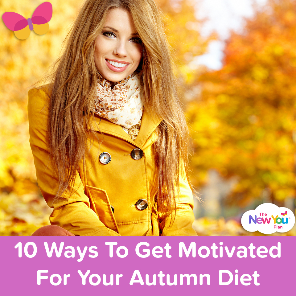 10 Ways To Get Motivated For Your Autumn Diet