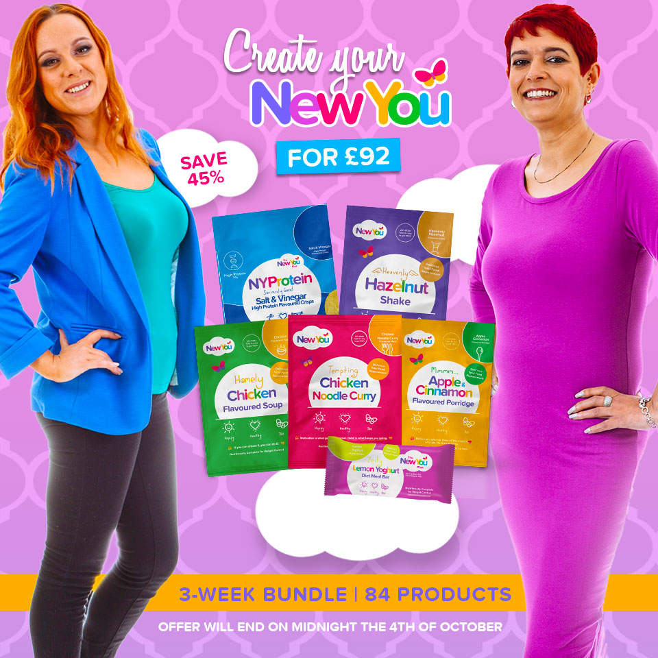 Create Your New You For ONLY £92