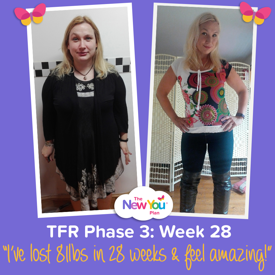 [TFR Phase 3] Week 28: 81lbs Gone For Good!