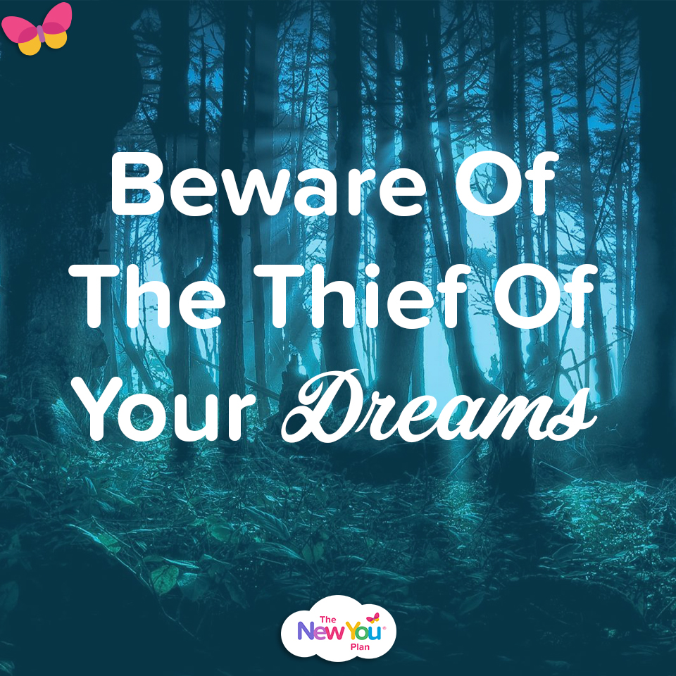 Beware Of The Thief Of Your Dreams