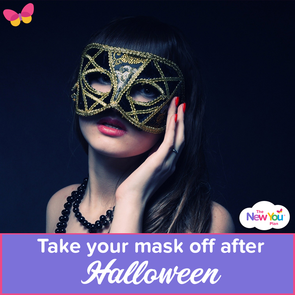 Take Your Mask Off After Halloween