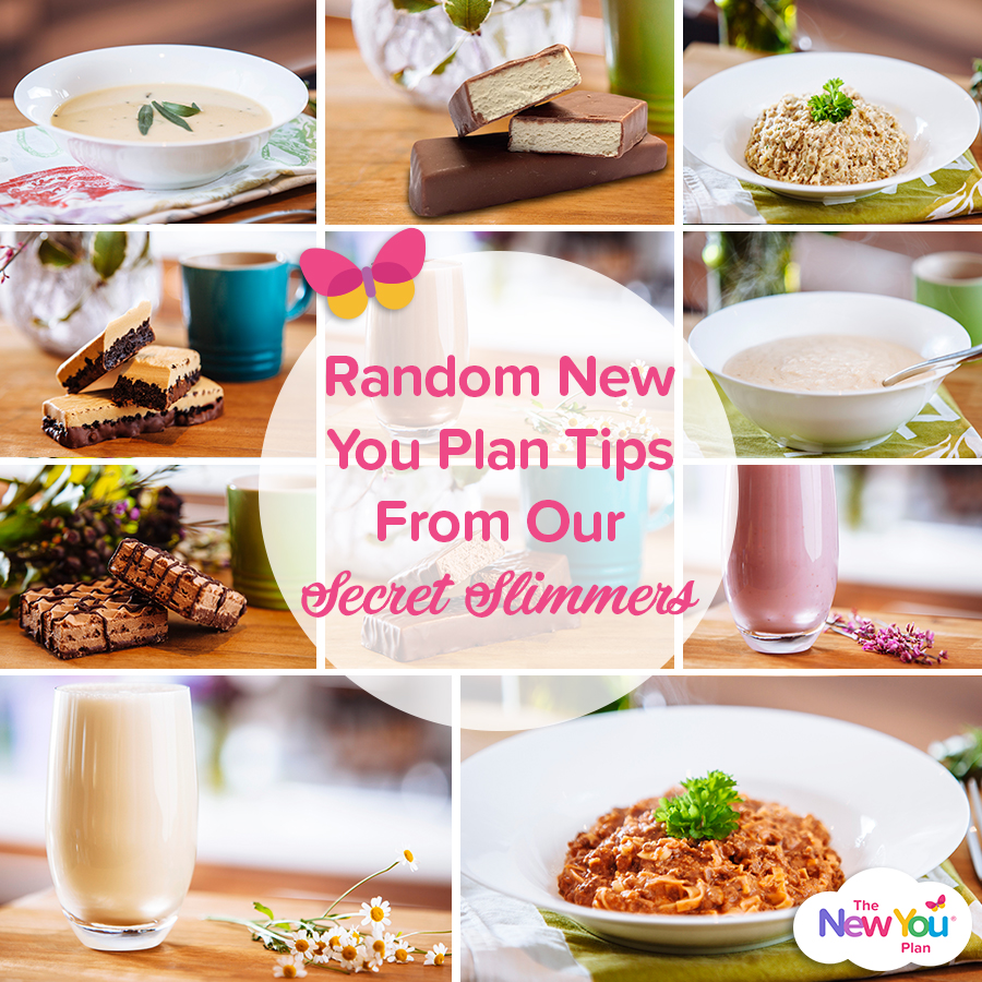 Random New You Plan Tips From Our Secret Slimmers