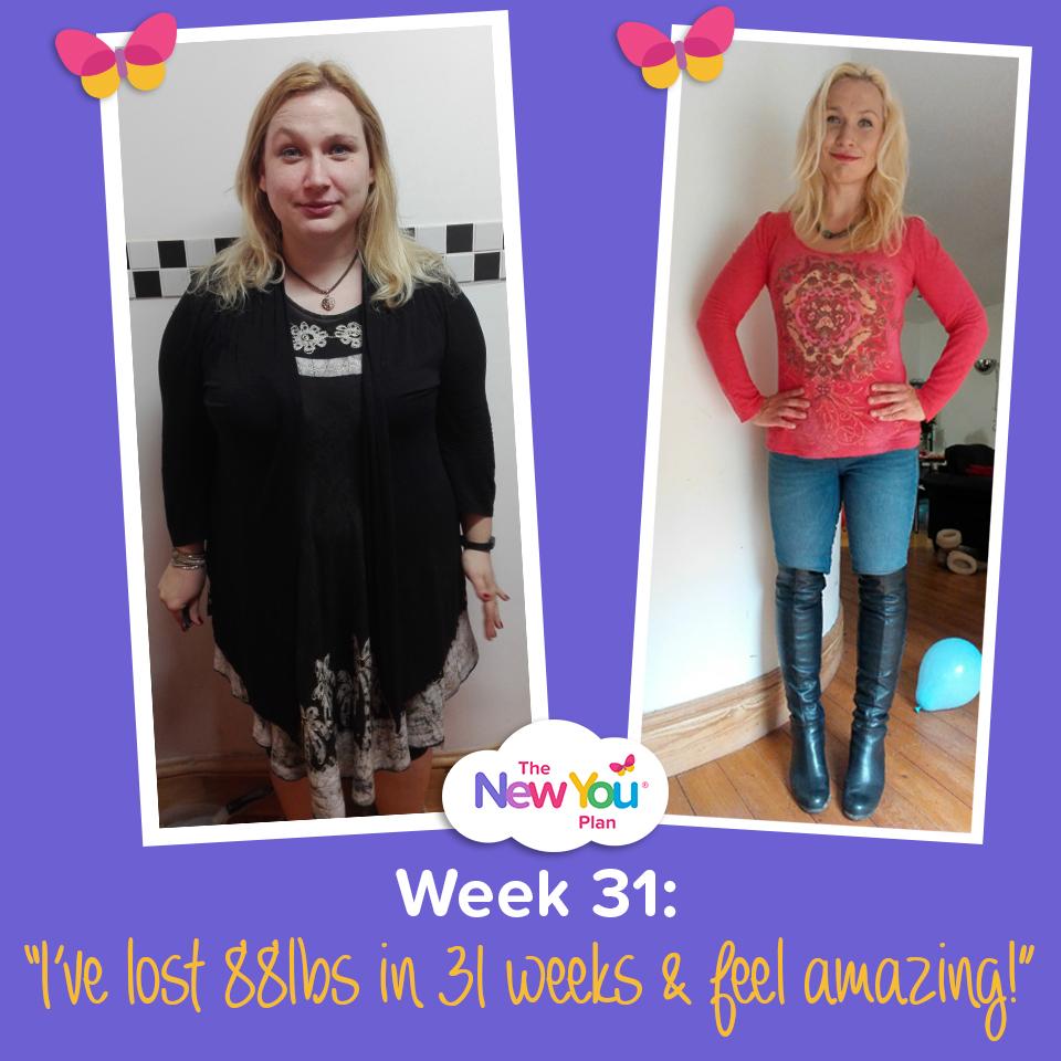 "Week 31: ""88lbs Lost On TFR & I Feel Amazing!"""