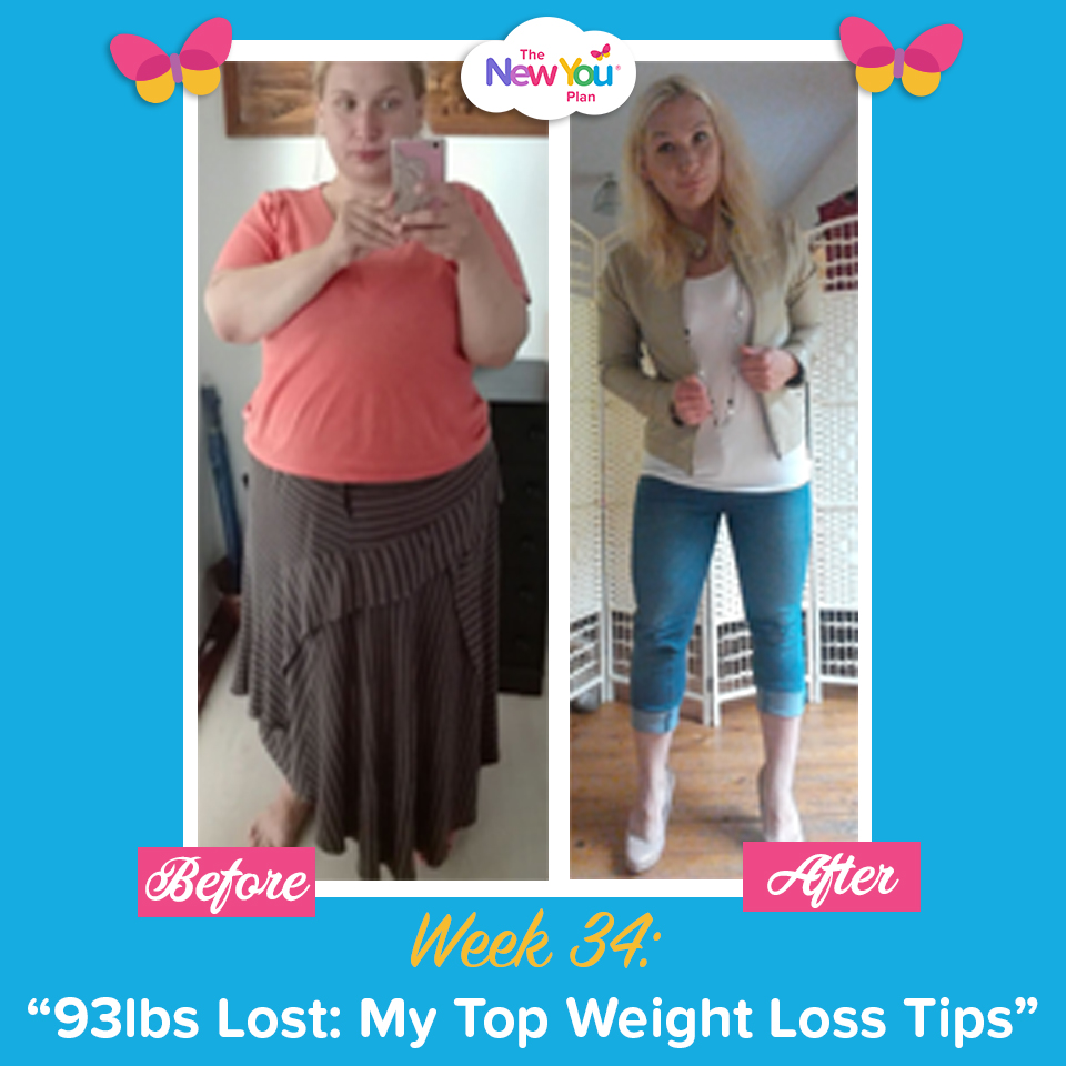 93lbs Lost In 34 weeks: My Top Weight Loss Tips*