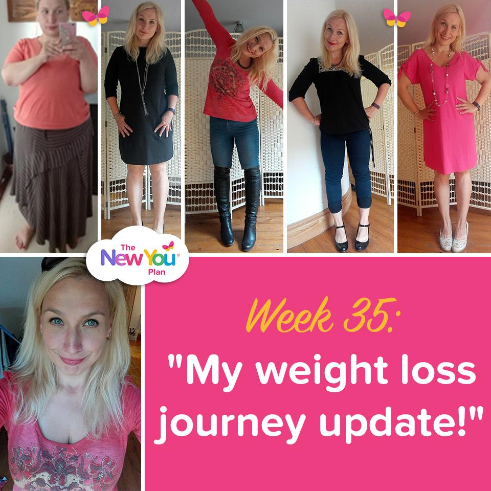 Week 35: My Weight Loss Journey Updade
