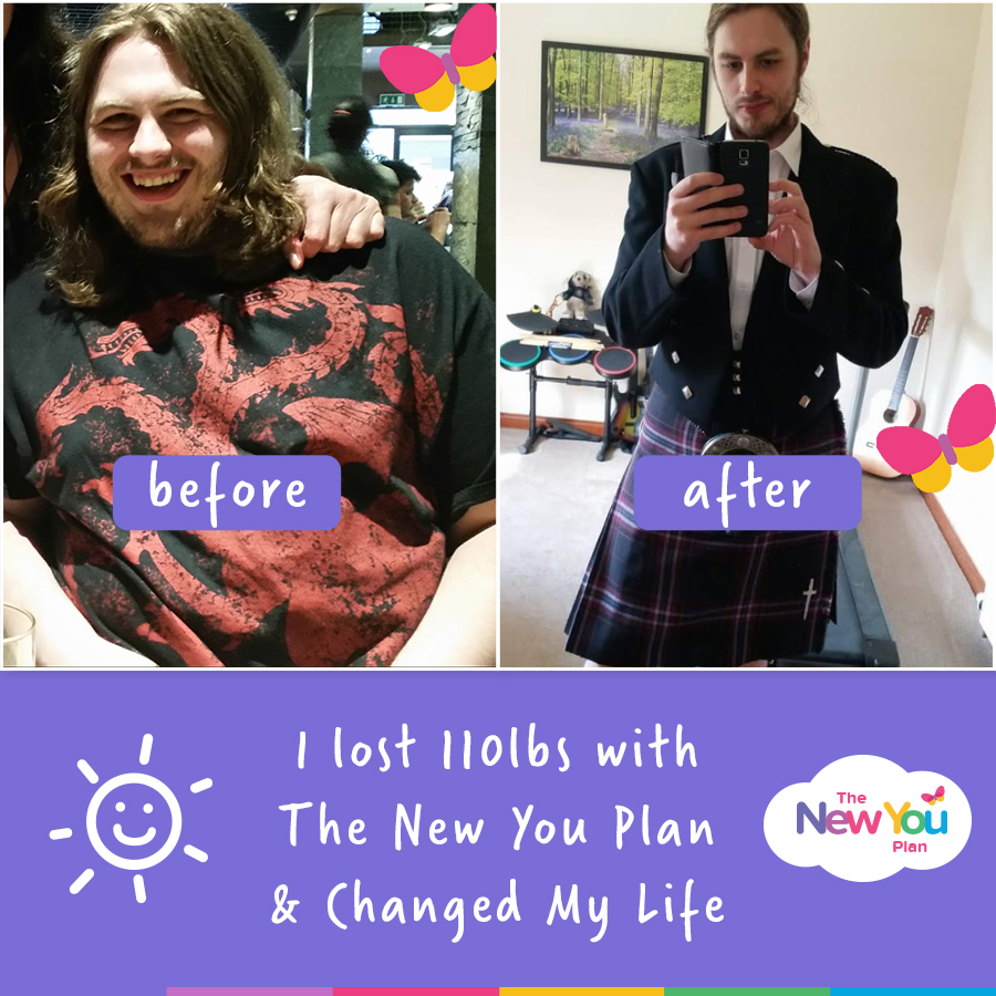 """""""My 110lb Life Changing Journey With The New You Plan!"""""""
