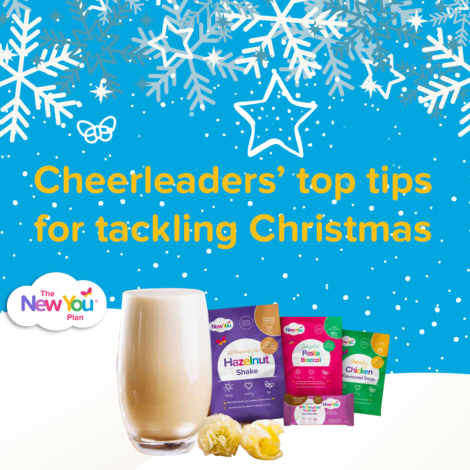 New You Plan Cheerleaders' Top Tips For Tackling The Christmas Holidays
