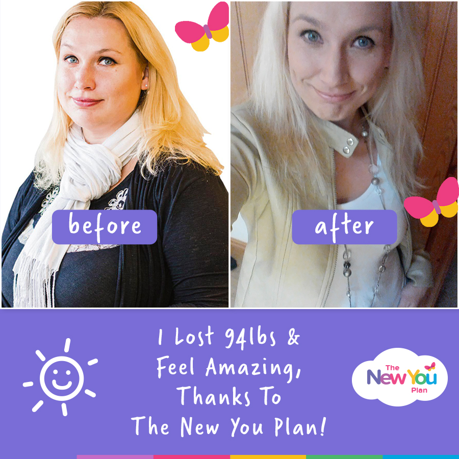 Hele Lost 94lbs in 2017 With The New You Plan