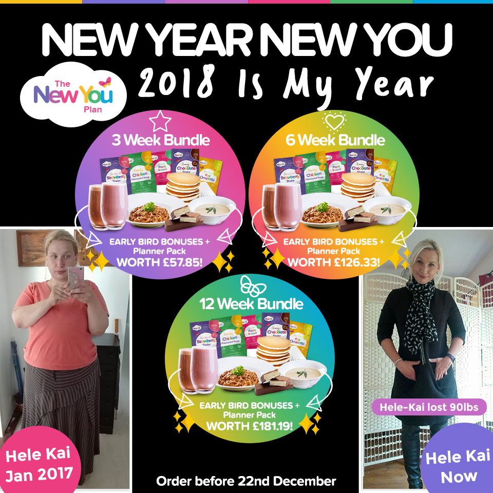 New Year, New You Bundles: 2018 Is YOUR Year!