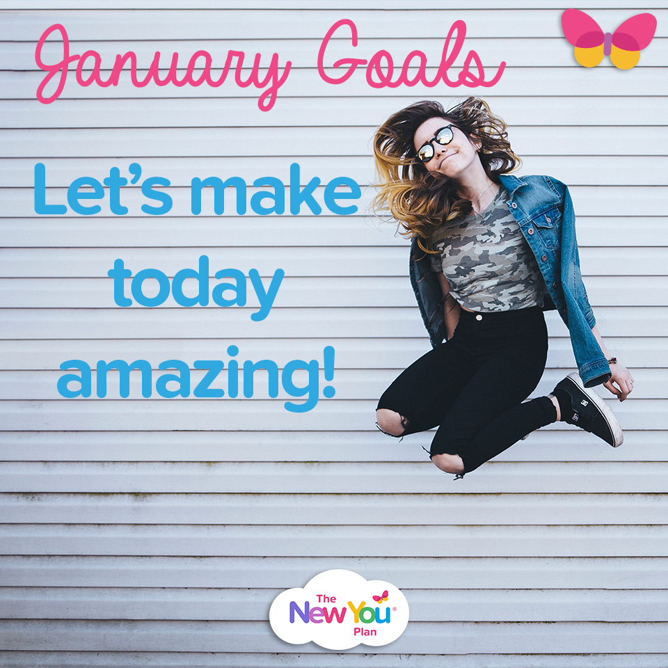 [January goals] Let's Make Today AMAZING!