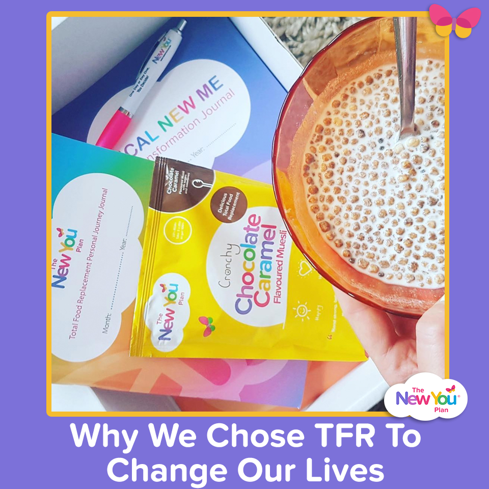 Why We Chose TFR (Total Food Replacement) To Change Our Lives