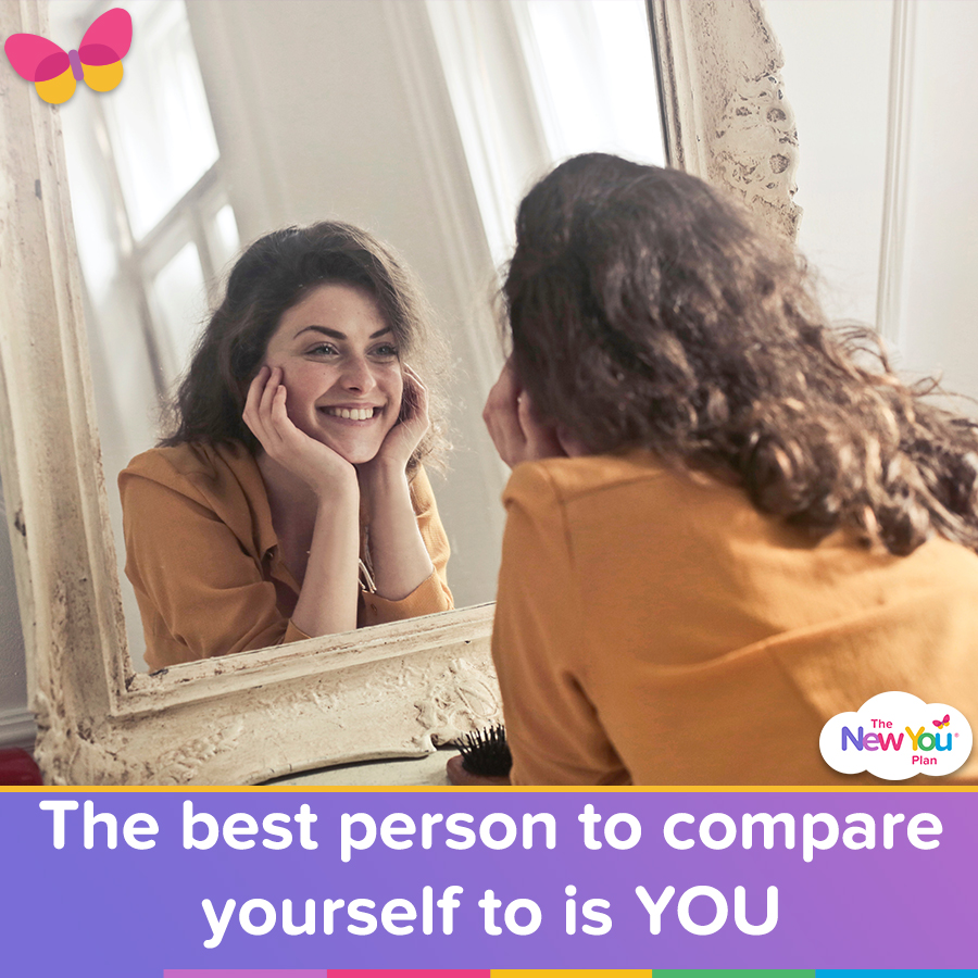 The Best Person To Compare Yourself To Is YOU!