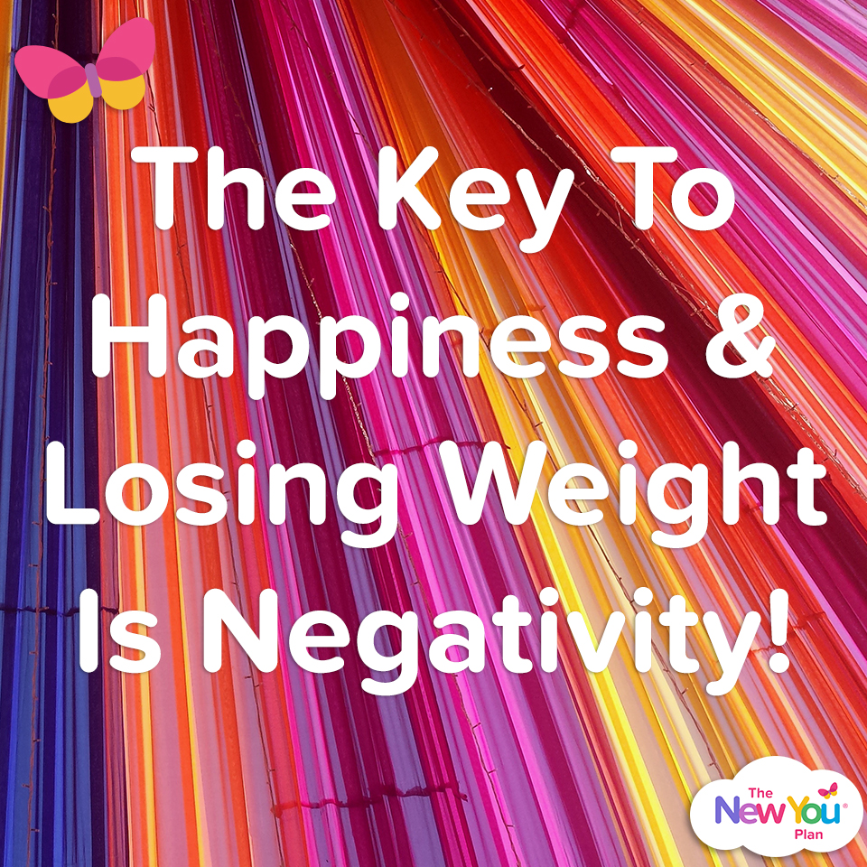The Key To Happiness & Losing Weight Is Negativity!