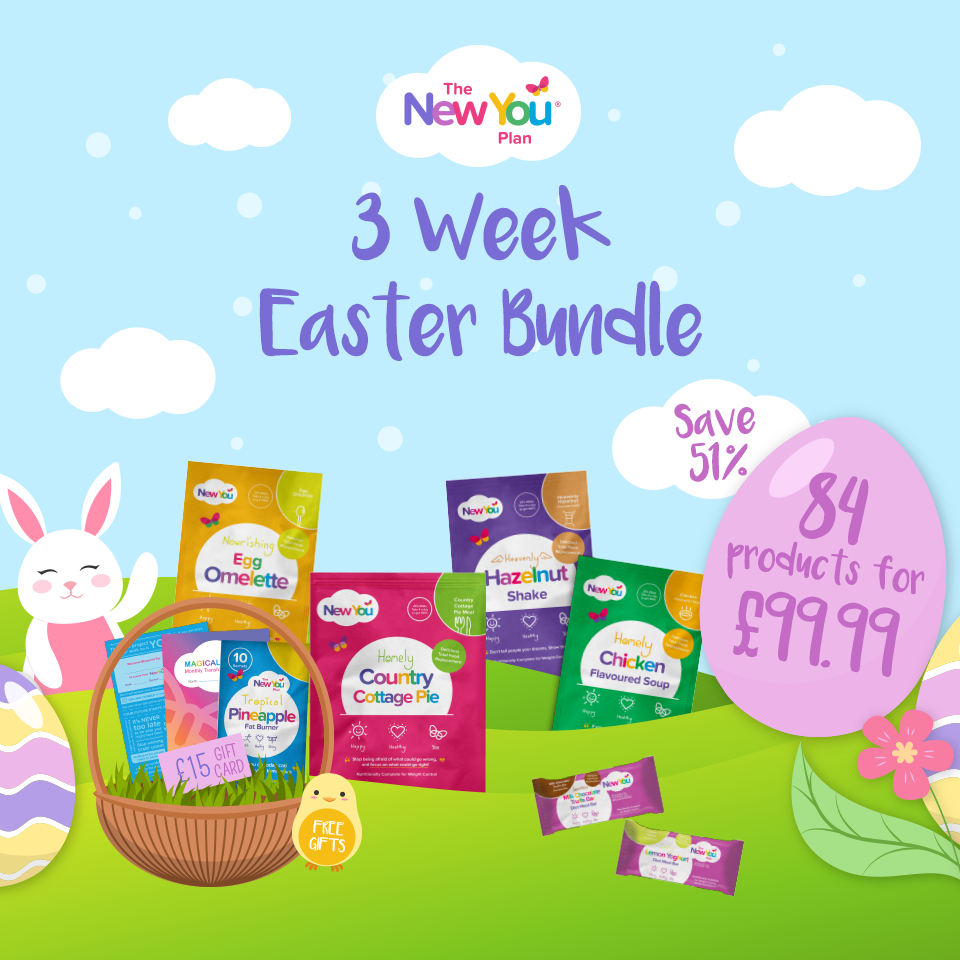 3 Week Easter Bundle With FREE Gift Worth £35.48