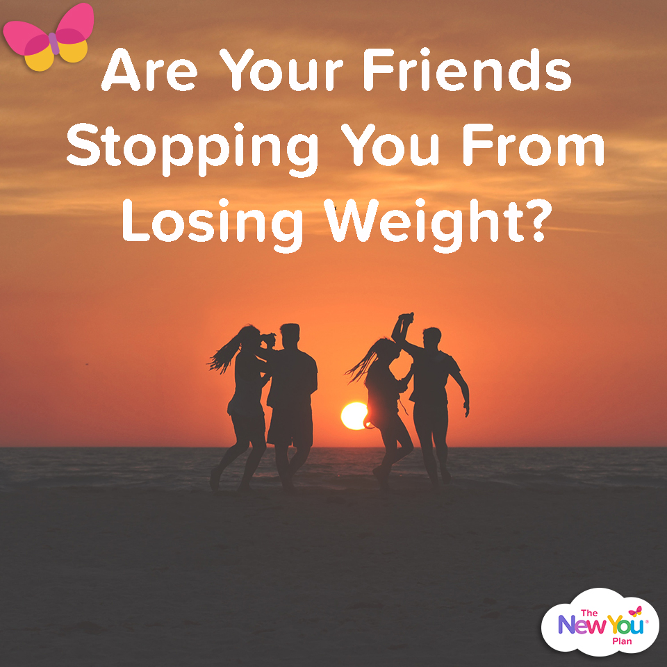 Are Your Friends Stopping You From Losing Weight?