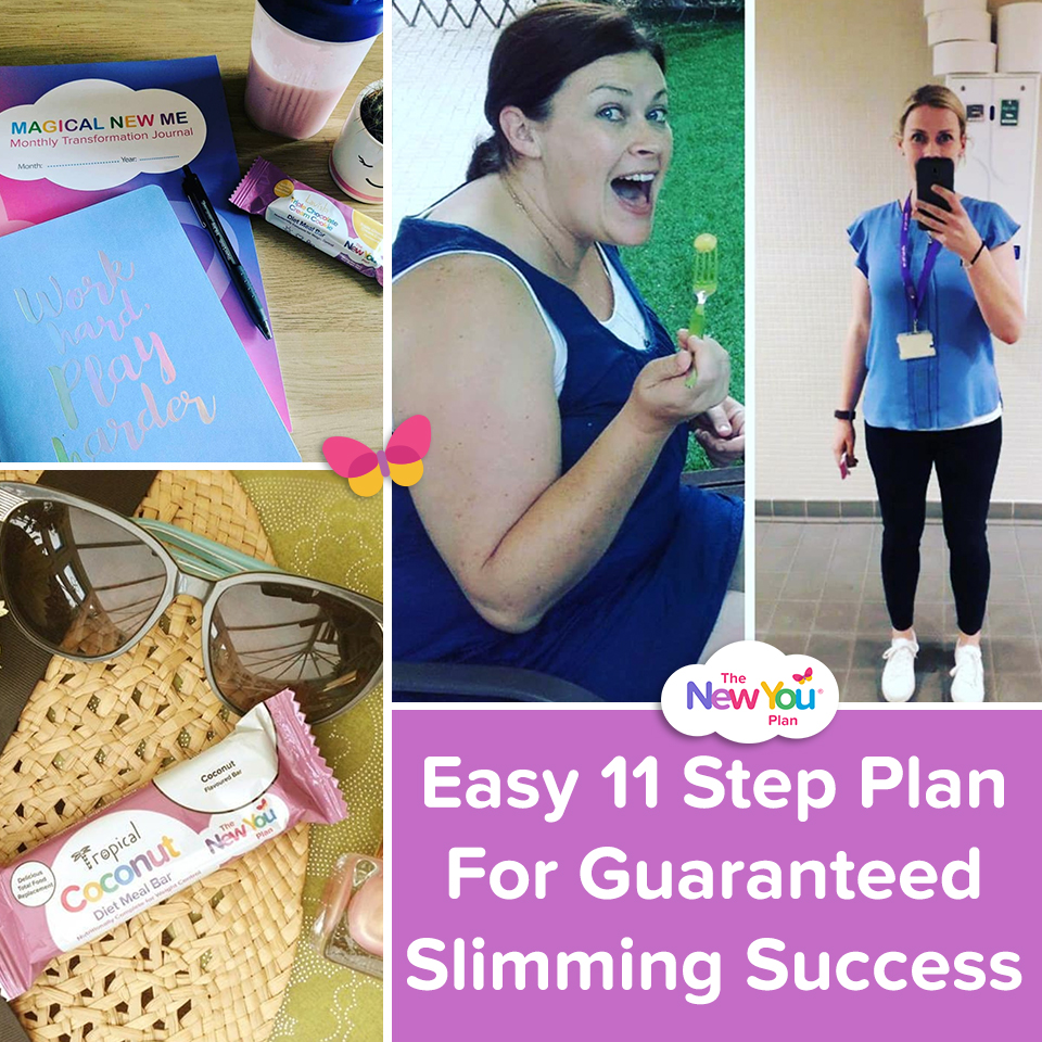 Easy 11 Step Plan For Guaranteed Slimming Success*