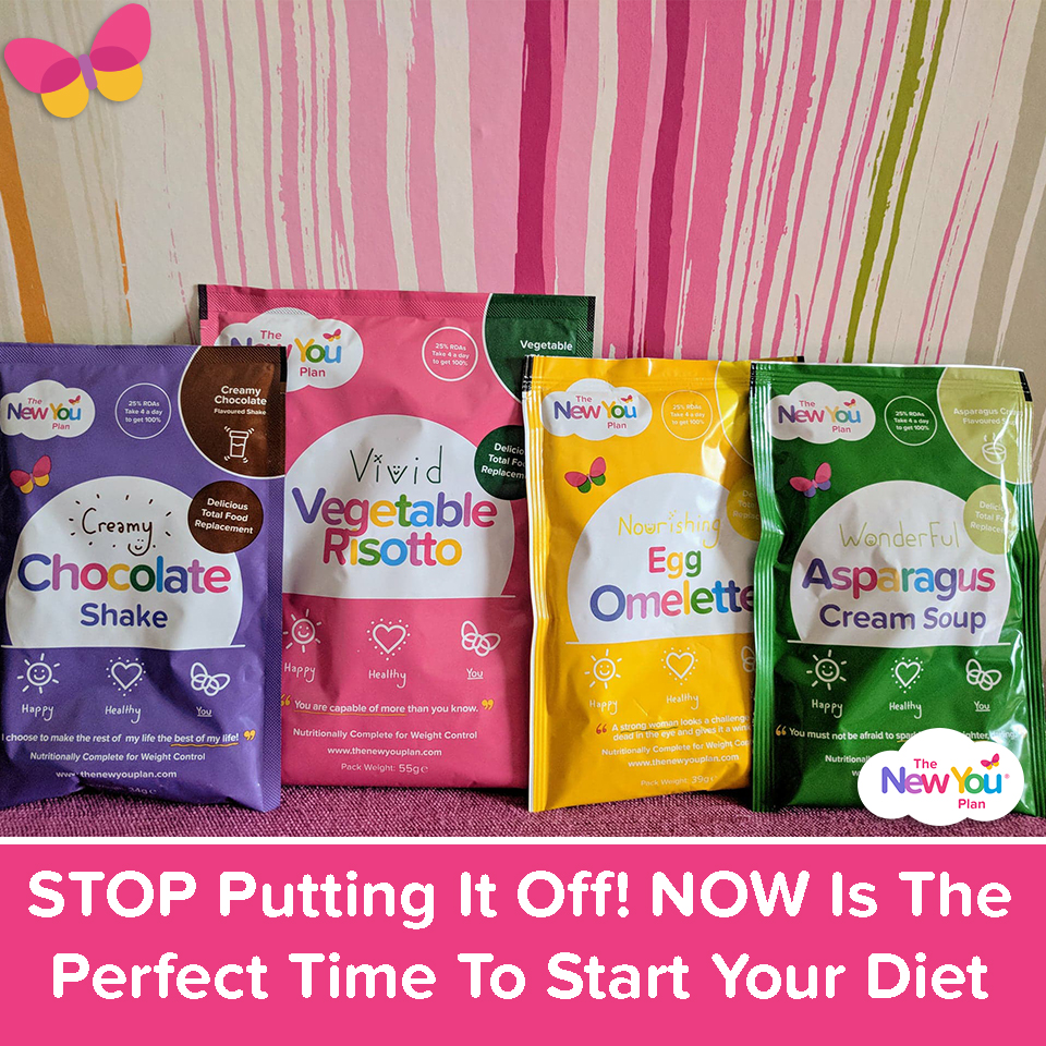 STOP Putting It Off! NOW Is The Perfect Time To Start Your Diet