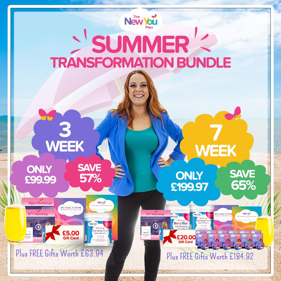 BRAND NEW 3+7 Week Summer Transformation Bundles
