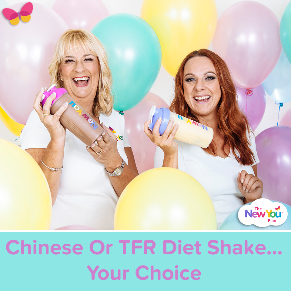 Chinese Or TFR Diet Shake… Your Choice