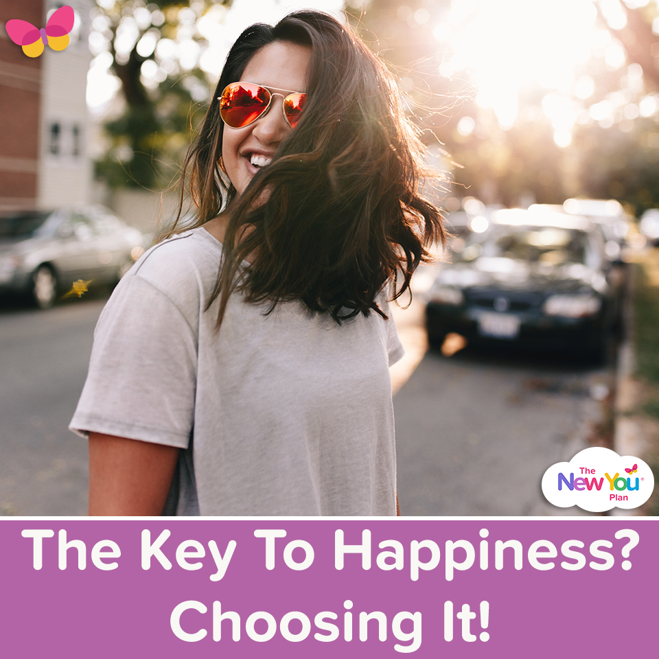The Key To Happiness? Choosing It!