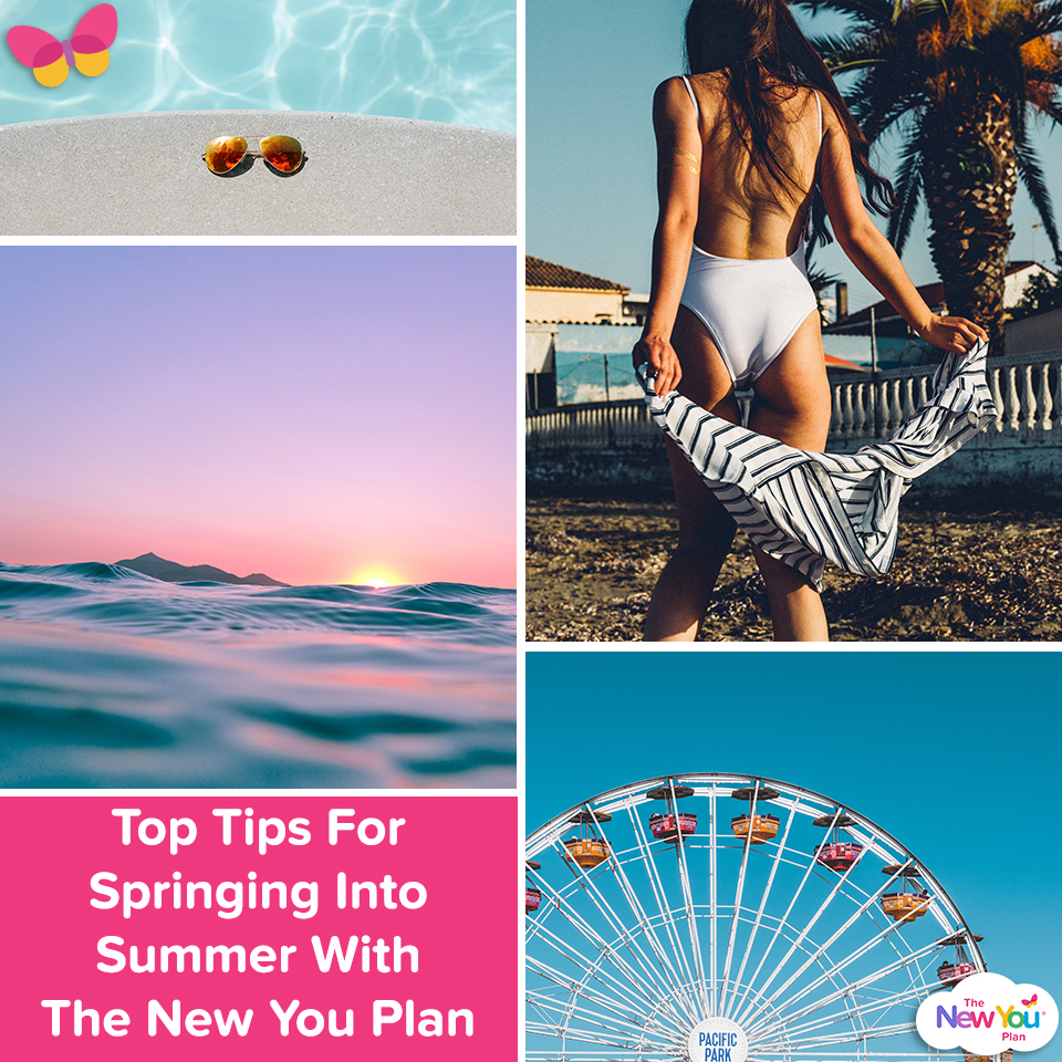 Top Tips For Springing Into Summer With The New You Plan