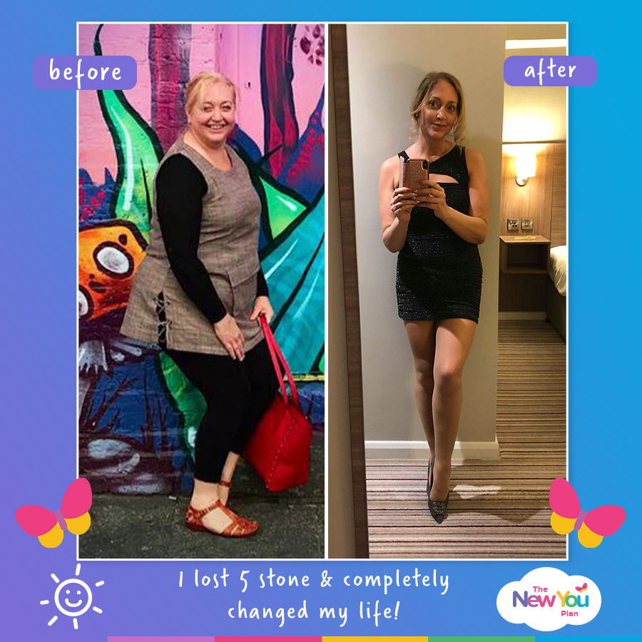 Sue's Sensational 5 Stone Weight Loss Story!