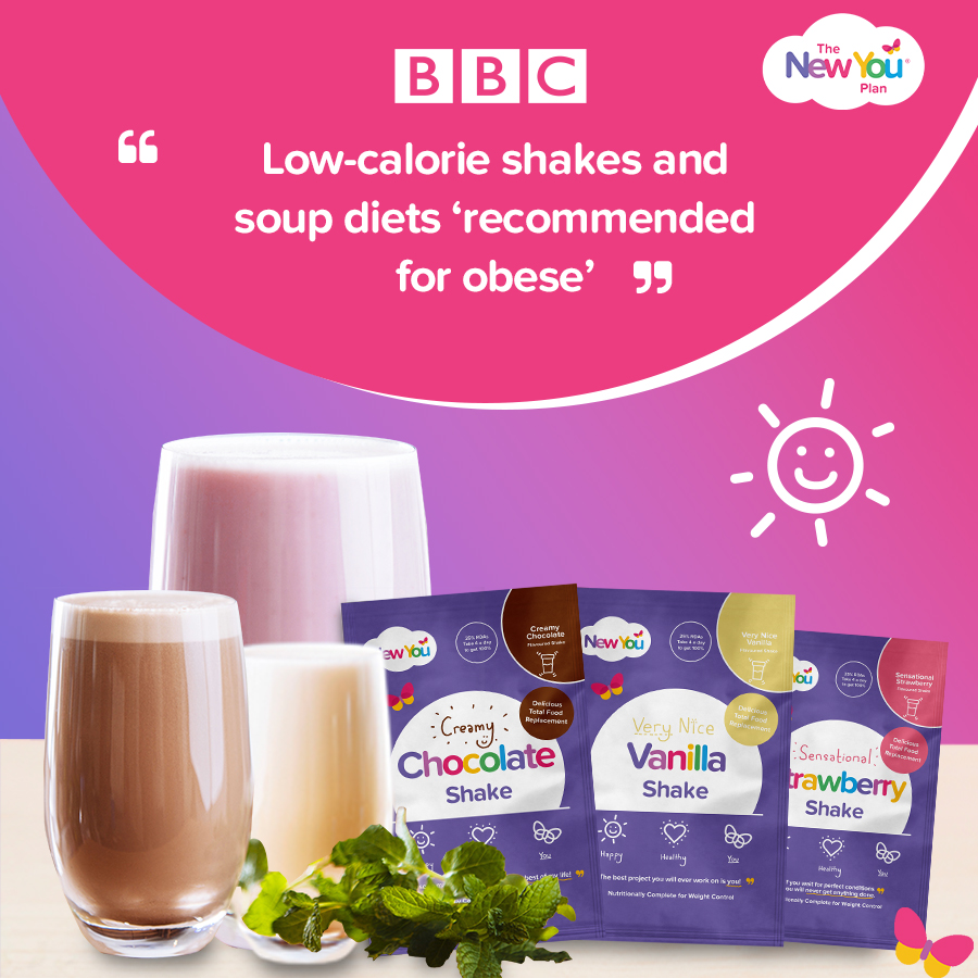 """[BBC News Article] """"Low calorie shakes and soup diets 'recommended for obese'"""""""