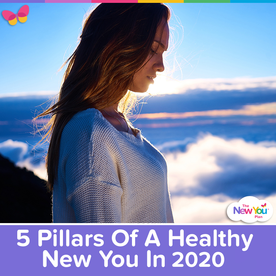 5 Pillars Of A Healthy New You In 2020
