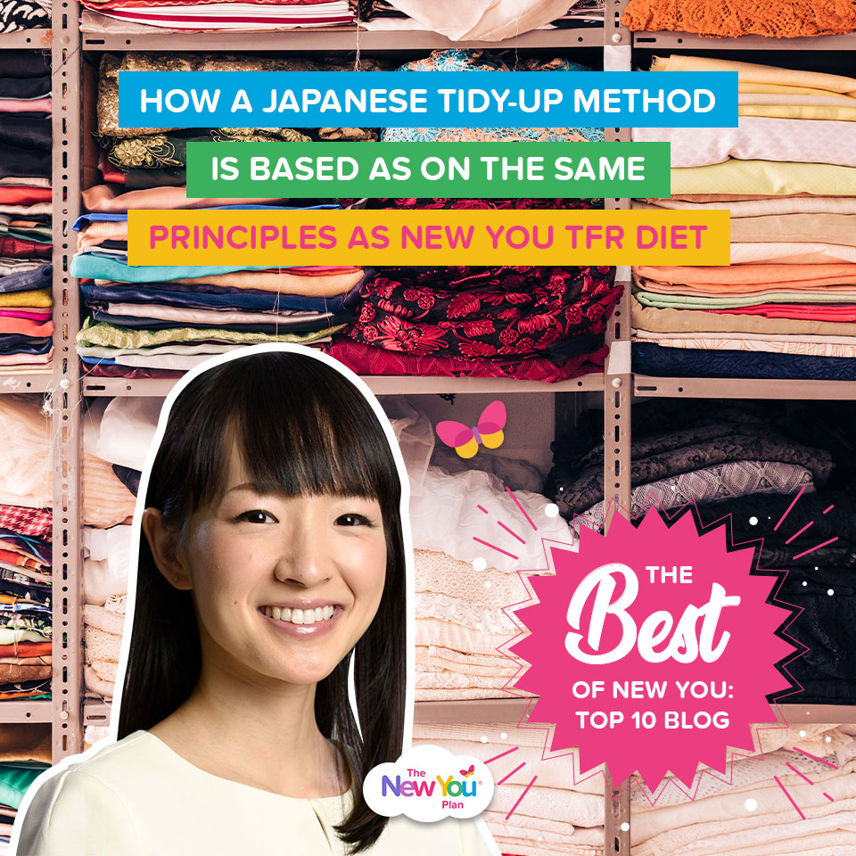 How a Japanese Tidy Up Method is Based on the Same Principles as New You TFR Diet