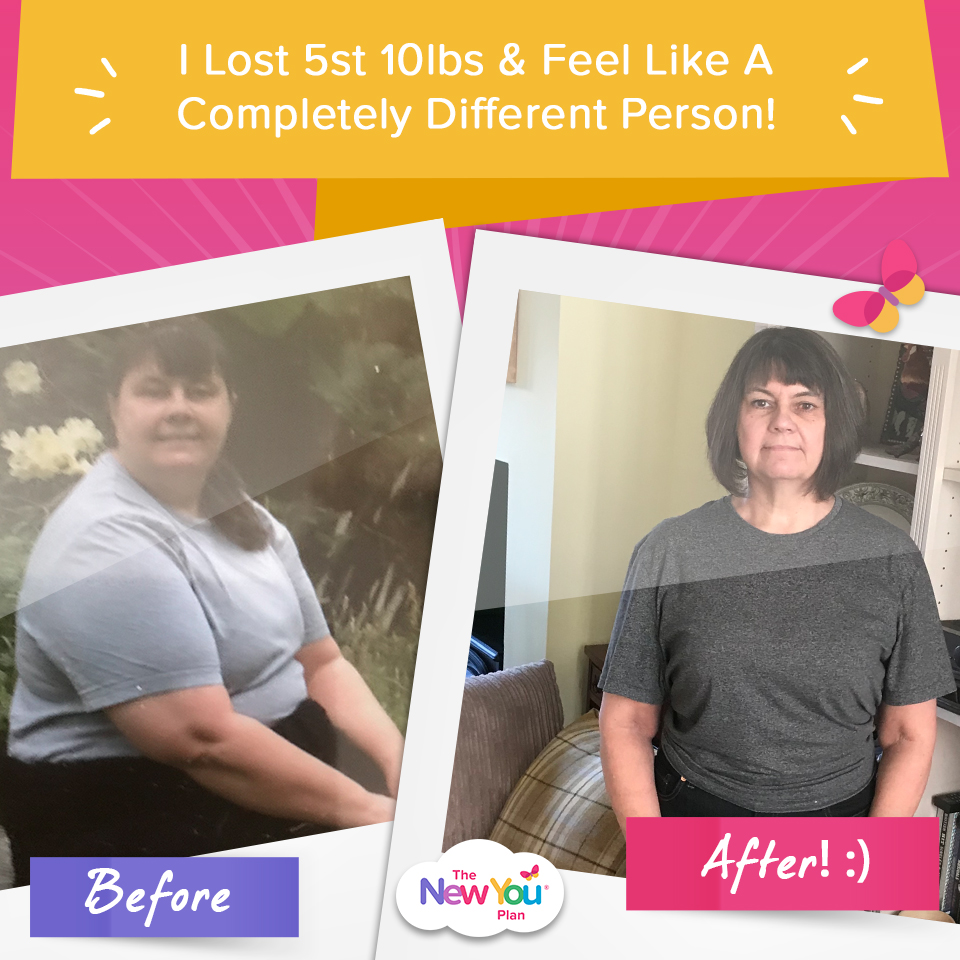 Jan's VLCD Journey: 5 Stone 10lbs Gone For Good!