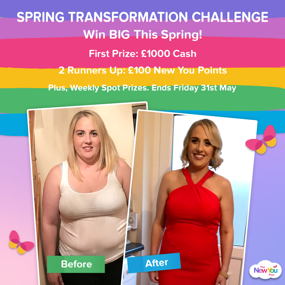 Spring Transformation Challenge: Submit your entries for your chance to WIN £1000 Cash