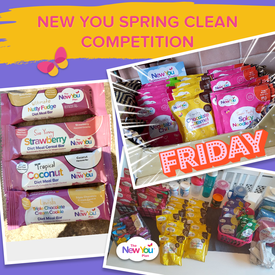 #NewYouSpringClean Competition: £400 Worth Of Prizes