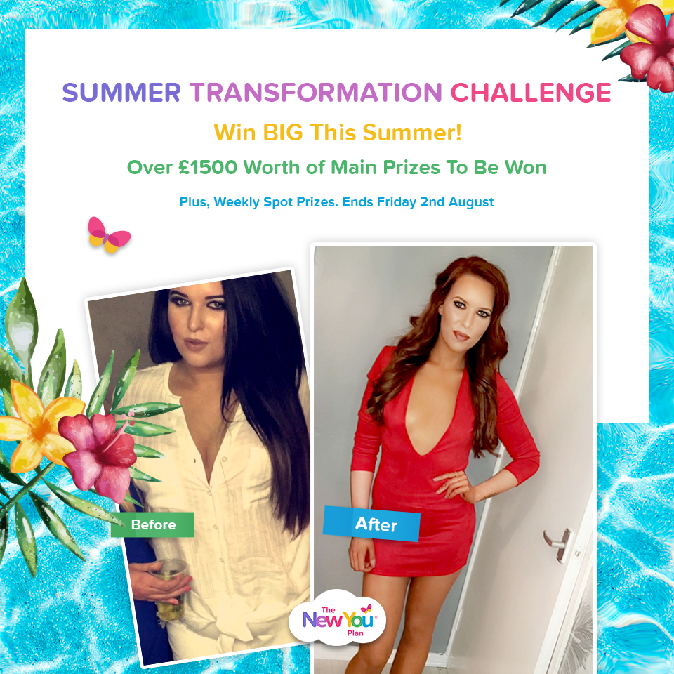 Summer Transformation Challenge: £1500 Worth Of Prizes Up For Grabs