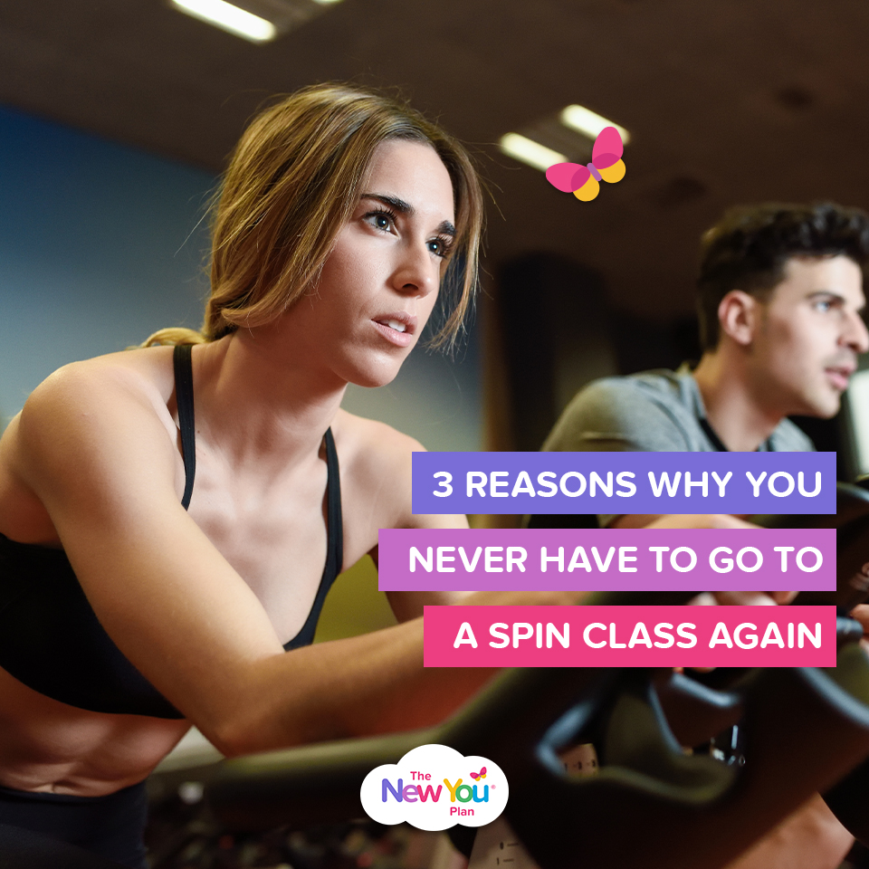 3 Reasons Why You Never Have To Go To A Spin Class Again