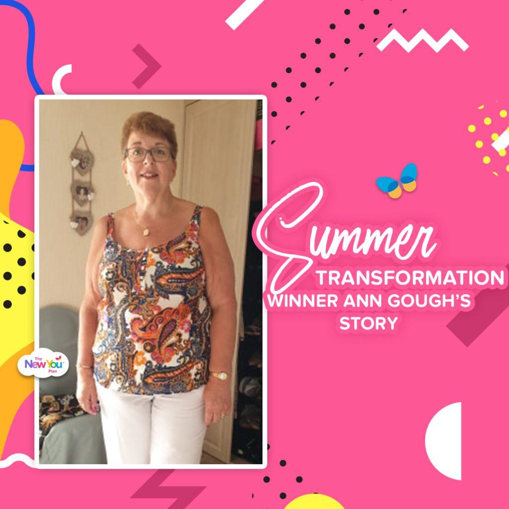Summer Challenge Winner Ann Gough shares her story