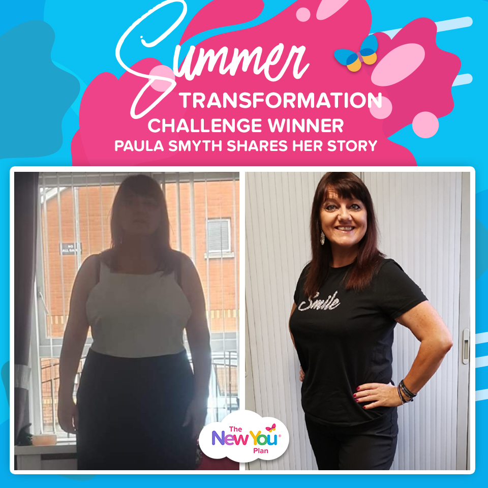 Summer Transformation Challenge Winner Paula Smyth Shares her story