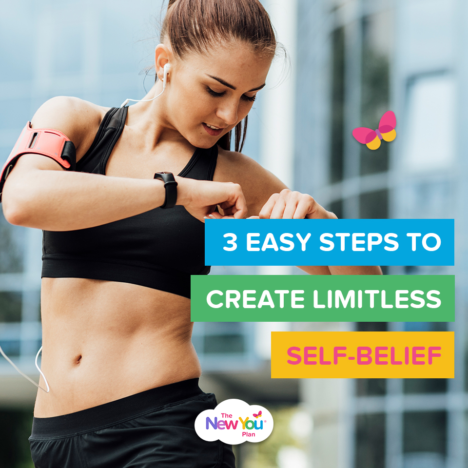 3 Easy Steps To Create Limitless Self-Belief