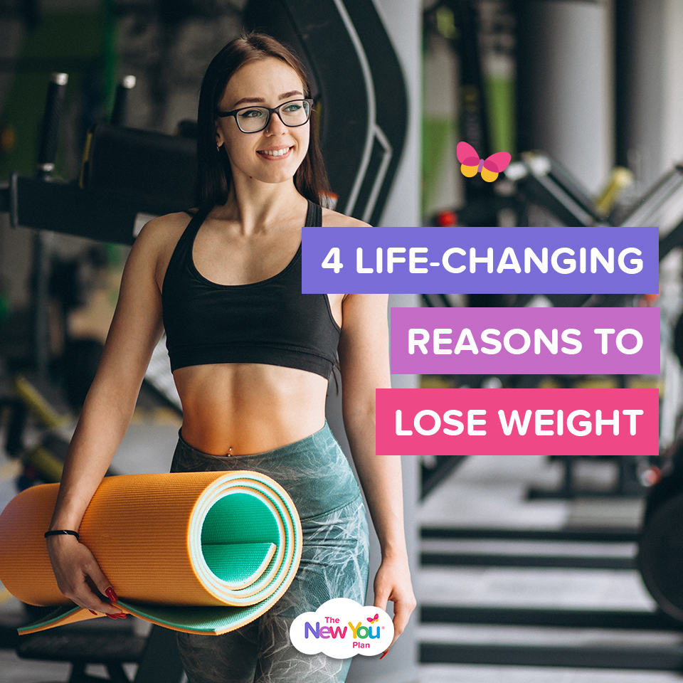 4 life-changing reasons to lose weight