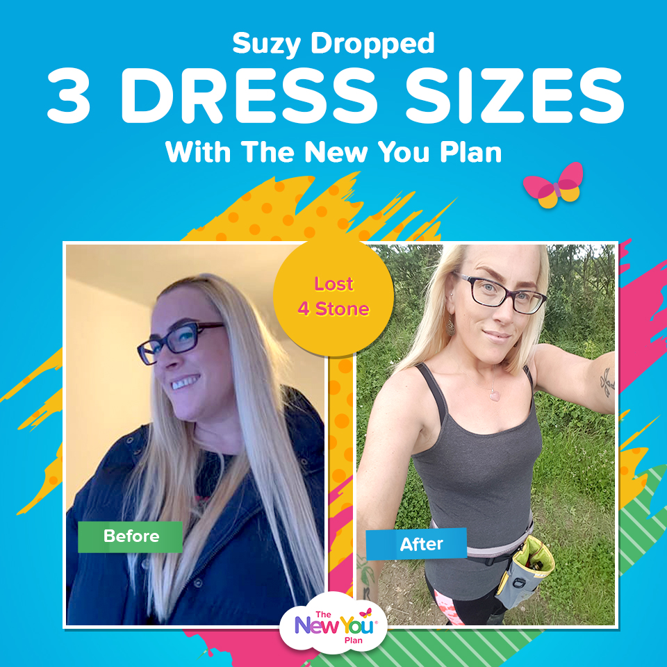 Suzy Lost 4st + Dropped 3 Dress Sizes Thanks To The New You Plan