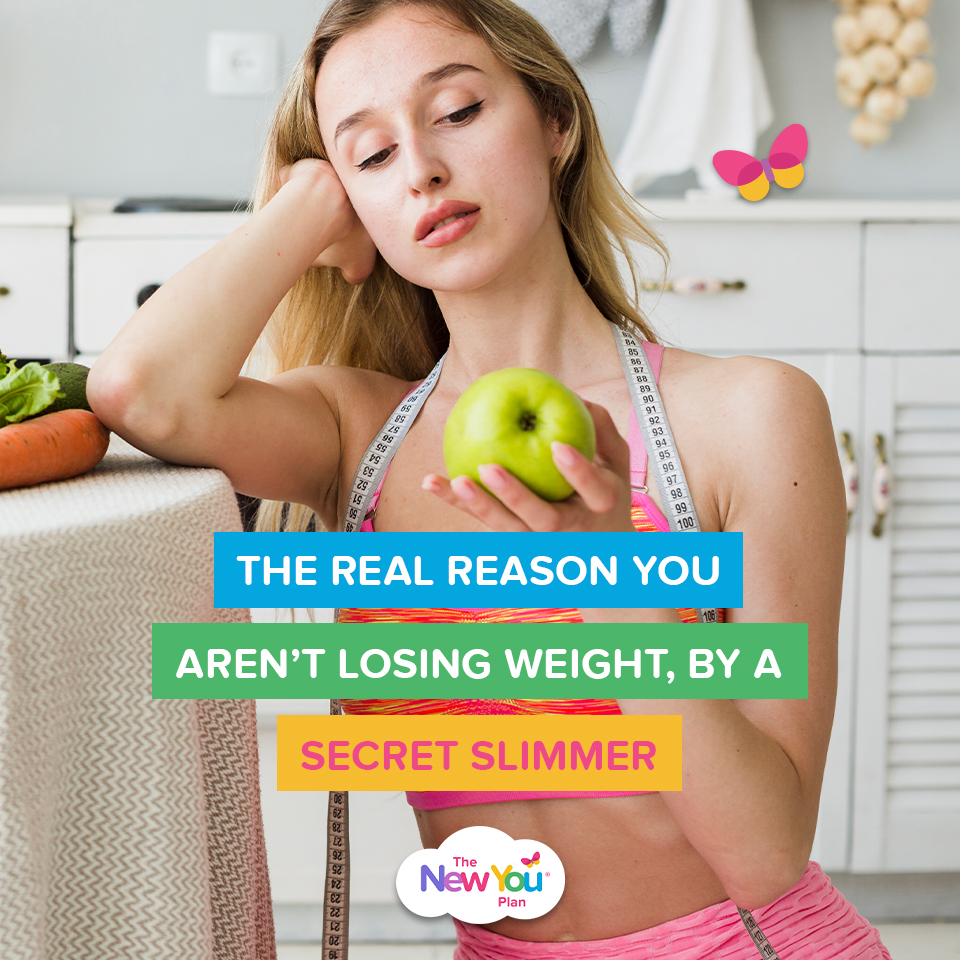 The Real Reason You Aren't Losing Weight, By a Secret Slimmer