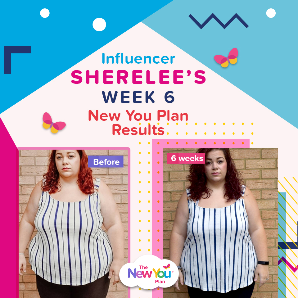 [Guest blog] Influencer Sherelee's Week 6 New You Results