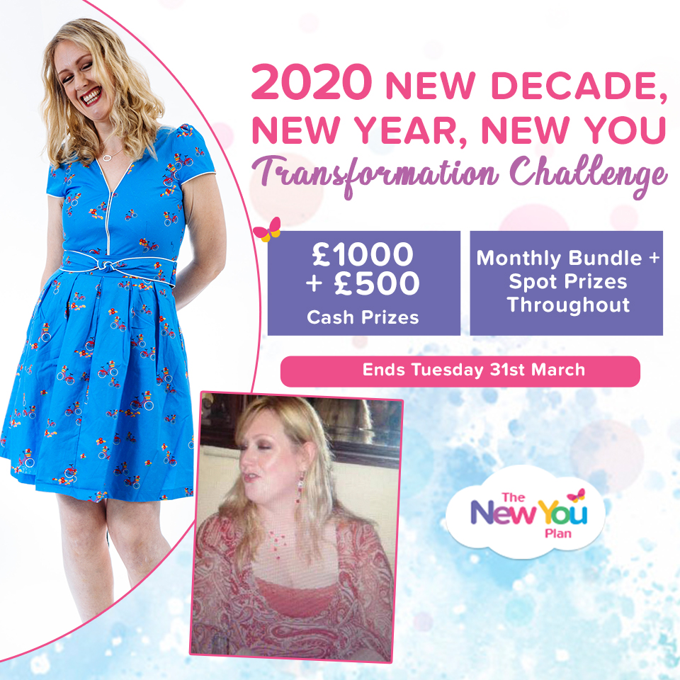 2020 New Decade, New Year, New You Transformation Challenge