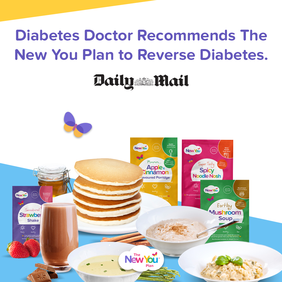[Daily Mail Article] Diabetes Doctor recommends The New You Plan to reverse type 2 diabetes