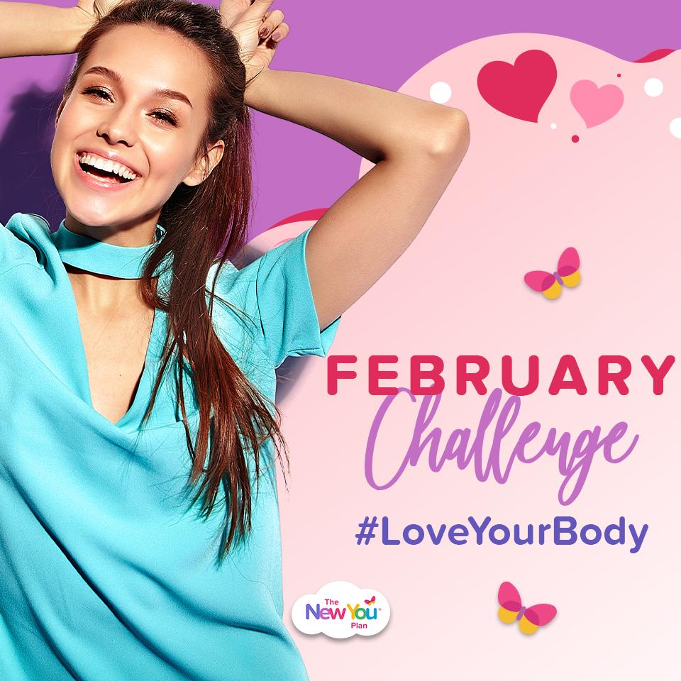 February Challenge: #LoveYourBody