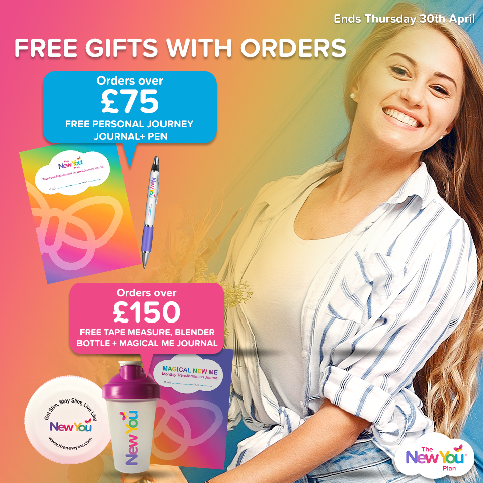 FREE Gifts With All Orders Over £75