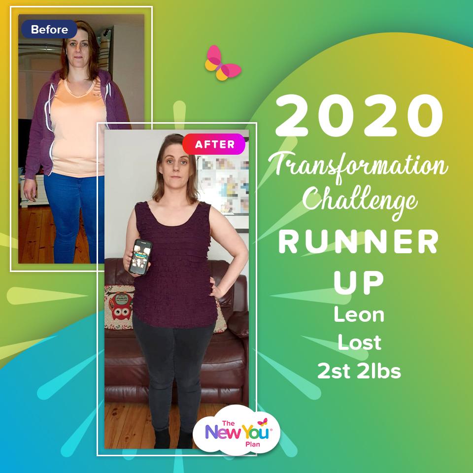 2020 Transformation Challenge Runner Up: Leon Lost 2st 2lbs
